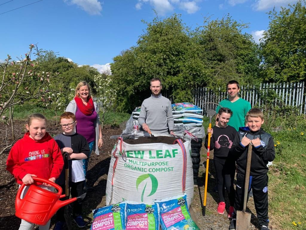 NWP supports maintenance of community allotments in Lurgan
