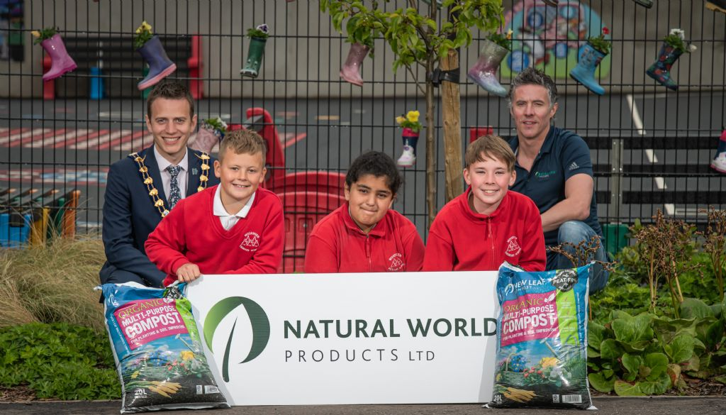 Creating the blooming best school gardens with NWP compost