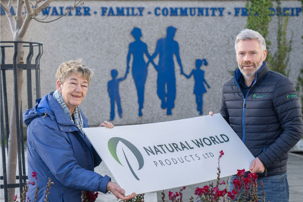 Natural World Products helps sustain Ballywalter Gardening Club