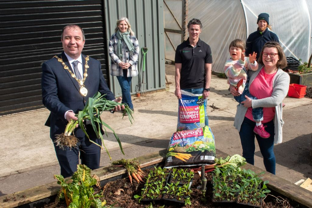 NWP provides boost to Derry and Strabane 'I Can Grow' project