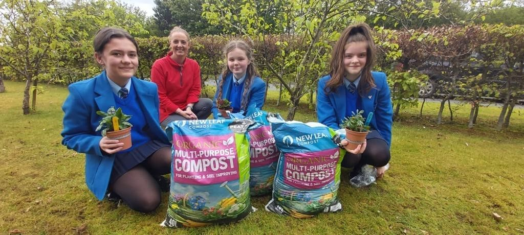 NWP supports St Mary's College, Derry 'Connect with Nature' initiative