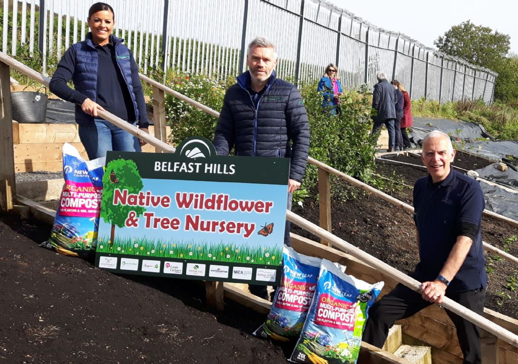 NWP supports The Belfast Hills Partnership in creating a Tree Nursery for the future